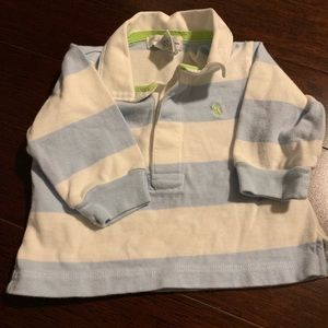 Baby Boy Long Sleeve Polo